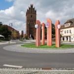Kreisverkehr Neuer Markt Fotomontage