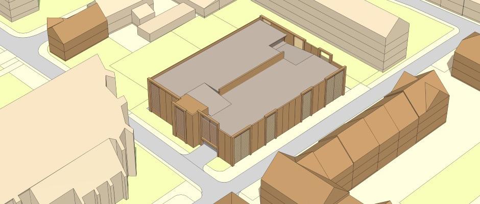 Parkhaus 3D Ansicht