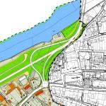 Planung Kreisverkehr Demminer Str